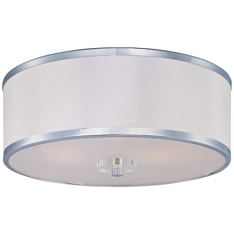 "Maxim Metro Flush Mount 15 3/4"" Wide Ceiling Light"