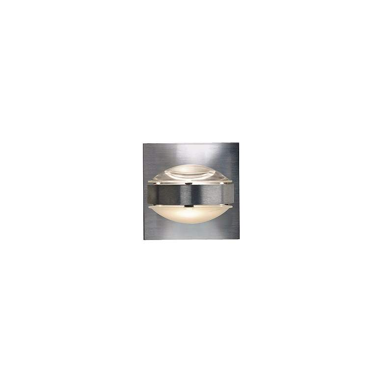 """Besa Optos 3 1/2"""" Wide Aluminum Clear and"""