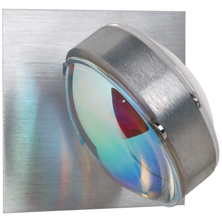 """Besa Optos 3 1/2"""" Wide Aluminum Cool and Warm Wall Sconce"""