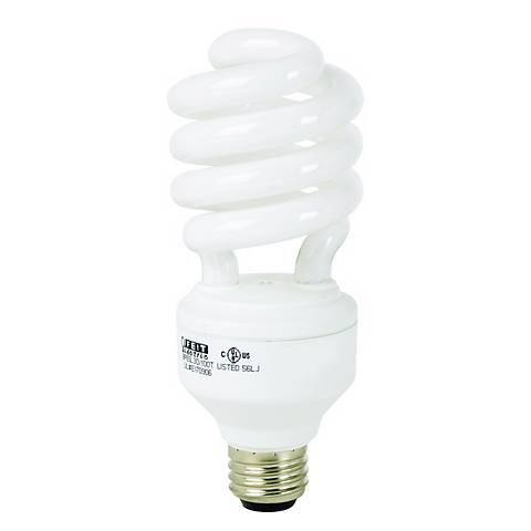 23 Watt Dimmable CFL Twist Light Bulb