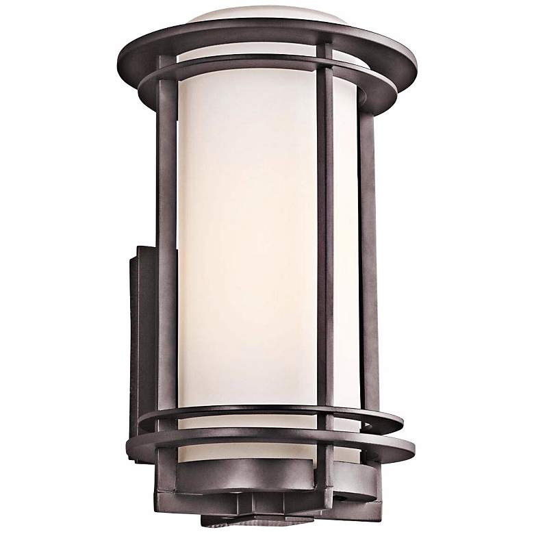 """Kichler Pacific Edge 13"""" High Bronze Outdoor Wall Sconce"""