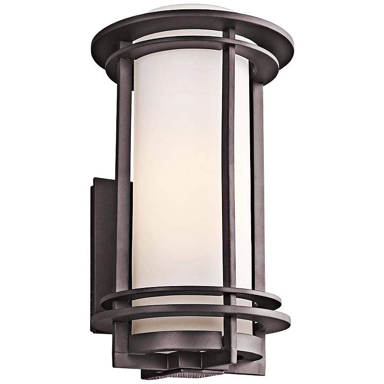 """Kichler Pacific Edge 16"""" High Bronze Outdoor Wall Sconce"""