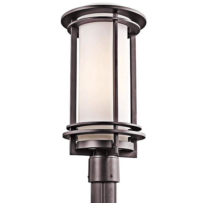 "Kichler Pacific Edge 19"" High Bronze Outdoor Post"