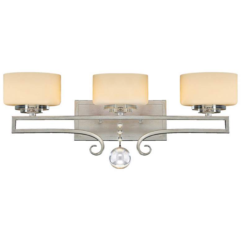 Rosendal Silver 3-Light 25 Wide Savoy House Sconce
