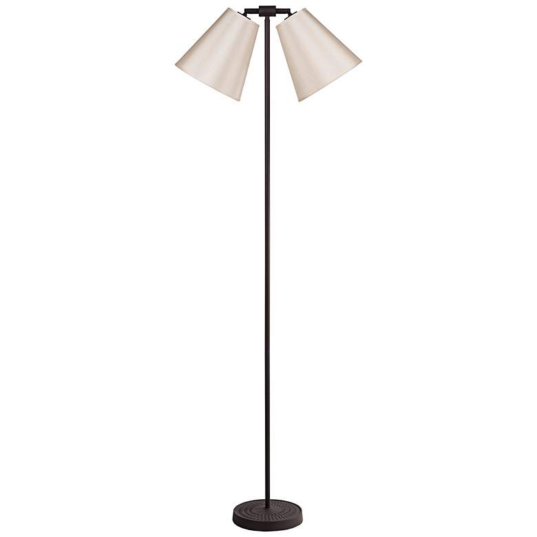 """Lights Up! Zoe 60"""" High Croissant Twin Shade"""