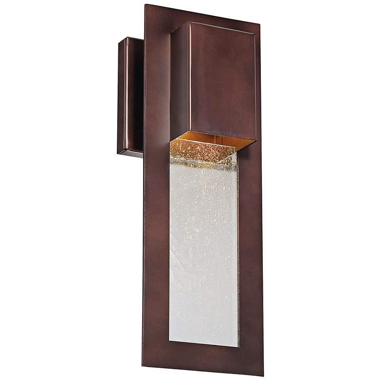 "Minka Westgate 13"" High Bronze Outdoor Wall Sconce"