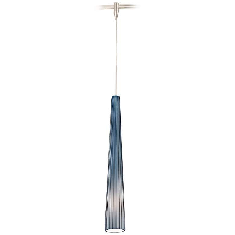 """Tech Lighting Zenith 3"""" Wide Satin Nickel Pendant"""