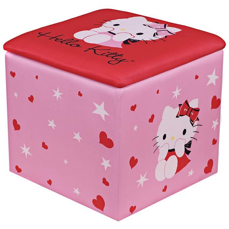 Hello Kitty Kids Storage Ottoman