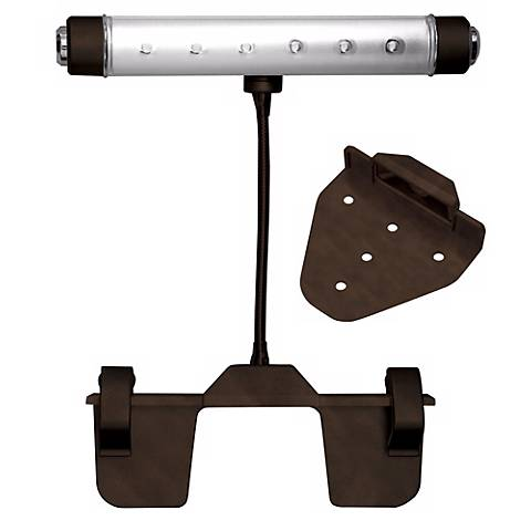 Rite Lite Bronze Finish Battery Powered LED Picture Light