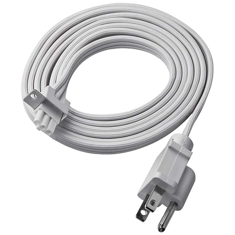 WAC 6' White Plug-in Power Cord
