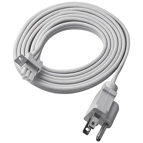 WAC Zaslow 6' White Plug-in Power Cord