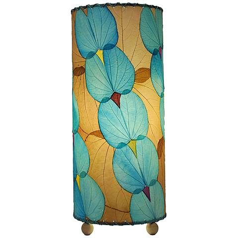 "Eangee 16""H Sea Blue Butterfly Uplight Accent Table Lamp"