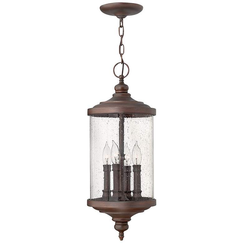 "Hinkley Barrington 24 1/2"" High Bronze Outdoor Pendant Light"