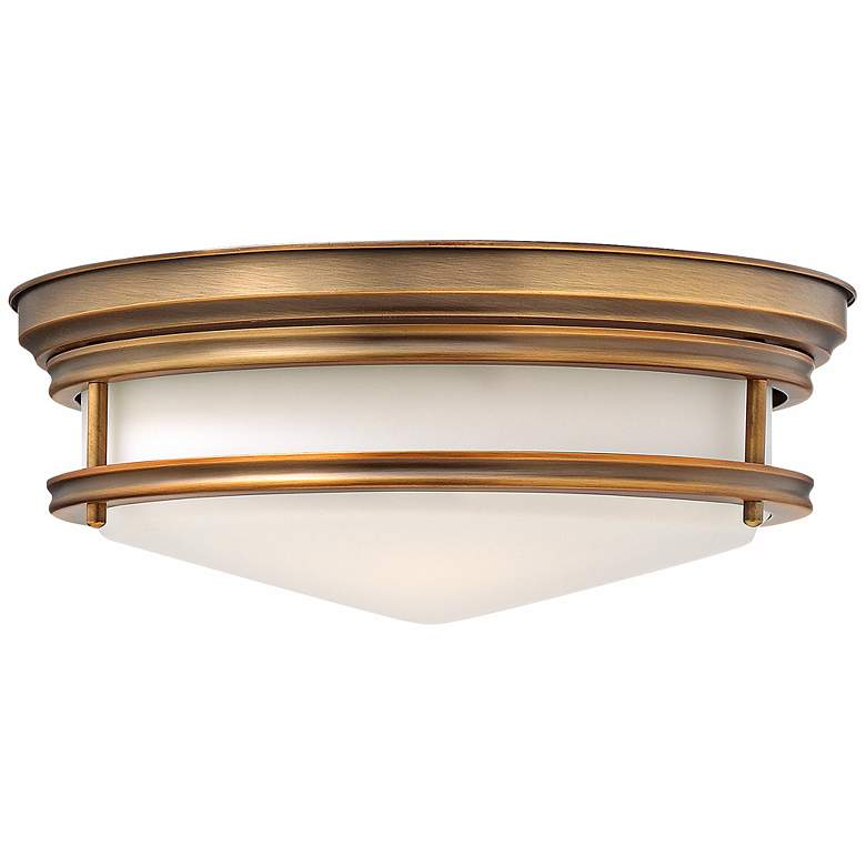 "Hinkley Hadley 14"" Wide Brushed Bronze Ceiling Light"