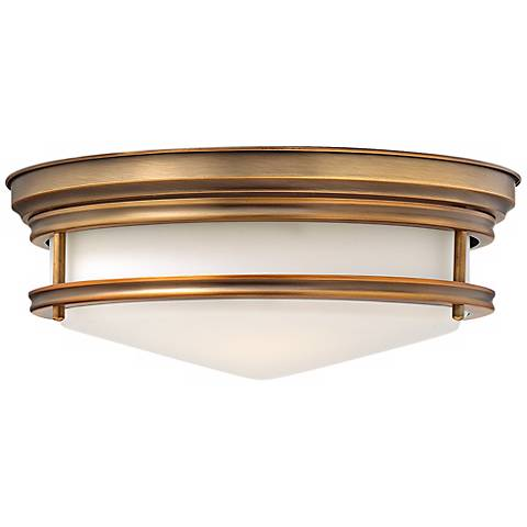 "Hinkley Hadley 14"" Wide Brushed Bronze Ceiling Light"