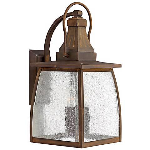 "Hinkley Montauk Sienna 19 1/2"" High Outdoor Wall Light"
