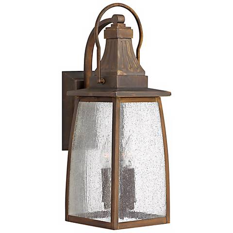 "Hinkley Montauk Sienna 20 3/4"" High Outdoor Wall Light"