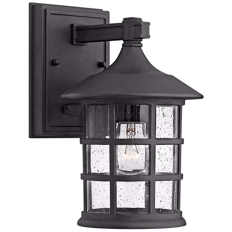 "Hinkley Freeport Black 9 1/4"" High Outdoor Wall Light"