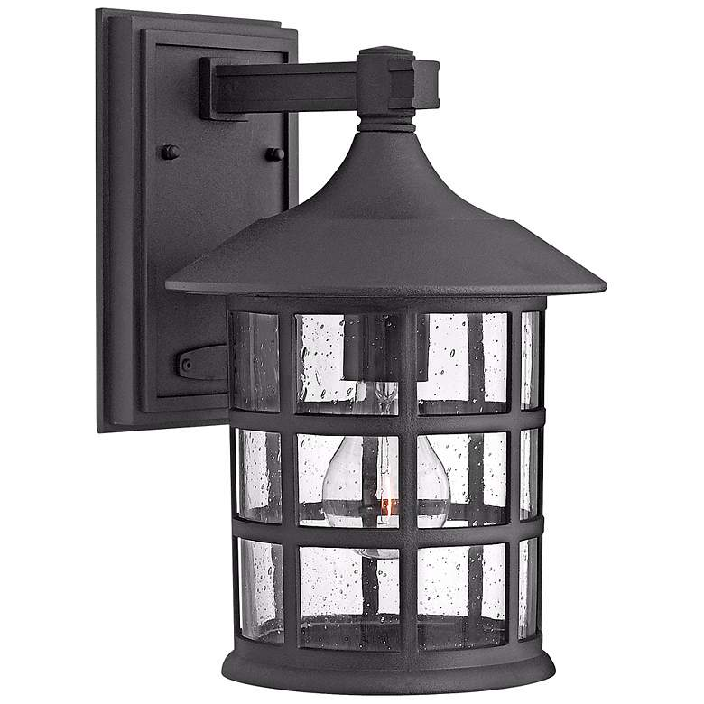"Hinkley Freeport Black 12 1/4"" High Outdoor Wall Light"