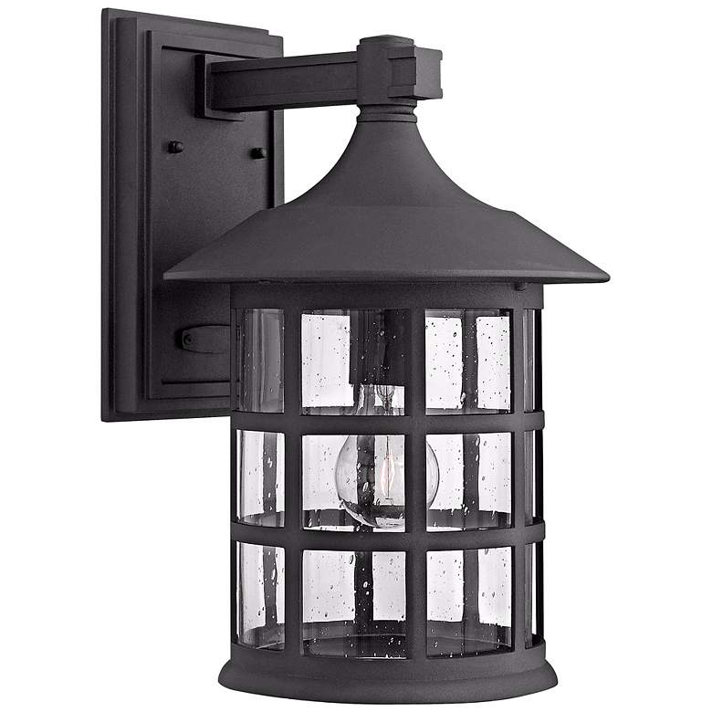 "Hinkley Freeport Black 15 1/4"" High Outdoor Wall Light"
