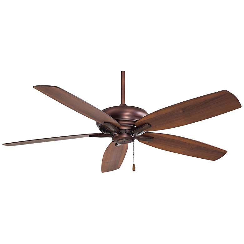 "52"" Minka Aire Kola Dark Brushed Bronze Ceiling Fan"