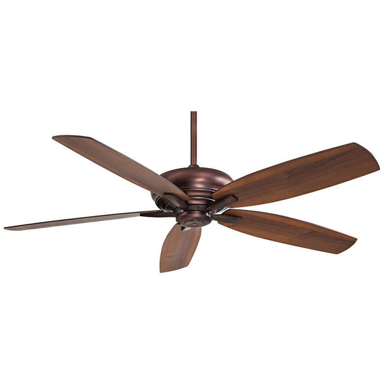 "60"" Minka Aire Kola Dark Brushed Bronze Ceiling Fan"