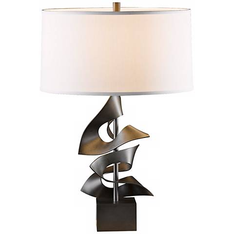 Hubbardton Forge Gallery Twofold Steel Table Lamp