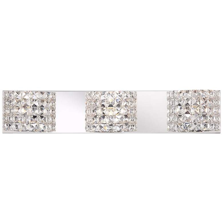 "Cesenna 25 1/2"" Wide Crystal 3-Light Bath Vanity Light"