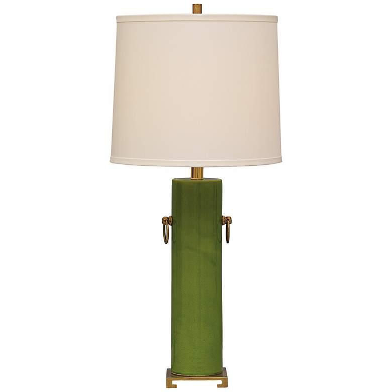 Beverly Apple Green Ceramic Table Lamp