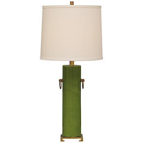 Beverly apple green ceramic table lamp x0517 lamps plus beverly apple green ceramic table lamp mozeypictures Image collections
