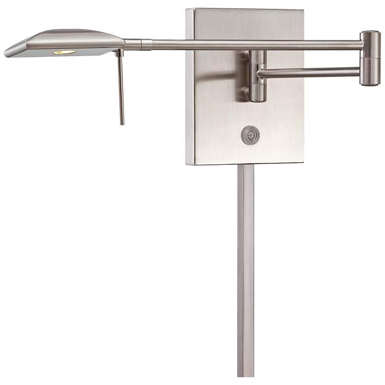 George Kovacs Square Head LED Nickel Swing Arm