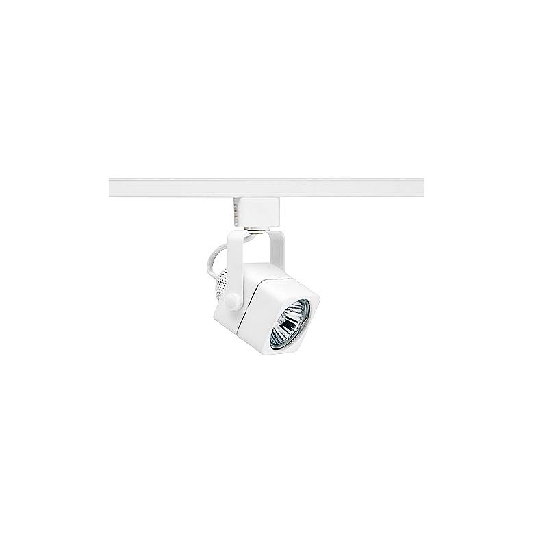 Juno Trac-Lites 50 Watt GU10 White Cast Cube Track Head