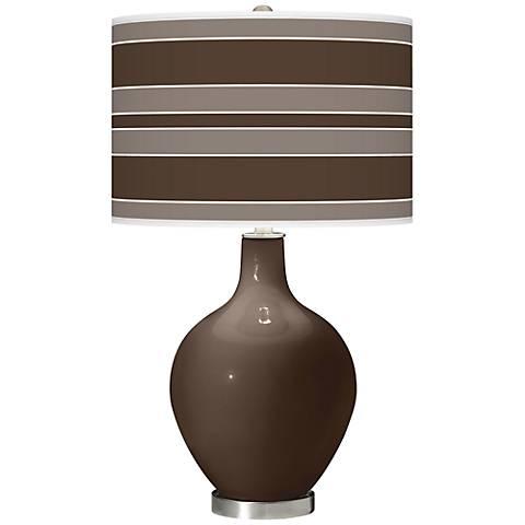 Carafe Bold Stripe Ovo Table Lamp