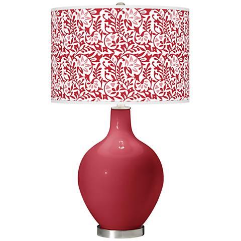 Samba Gardenia Ovo Table Lamp