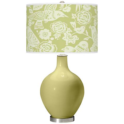 Linden Green Aviary Ovo Table Lamp