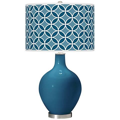 Bosporus Circle Rings Ovo Table Lamp