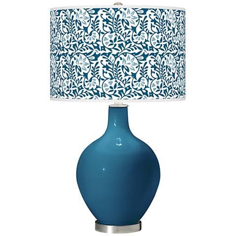 Bosporus Gardenia Ovo Table Lamp