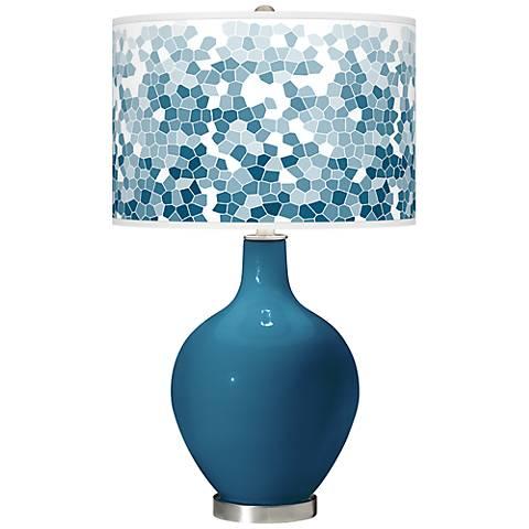 Bosporus Mosaic Giclee Ovo Table Lamp