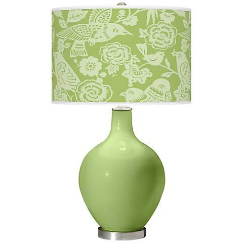 Lime Rickey Aviary Ovo Table Lamp