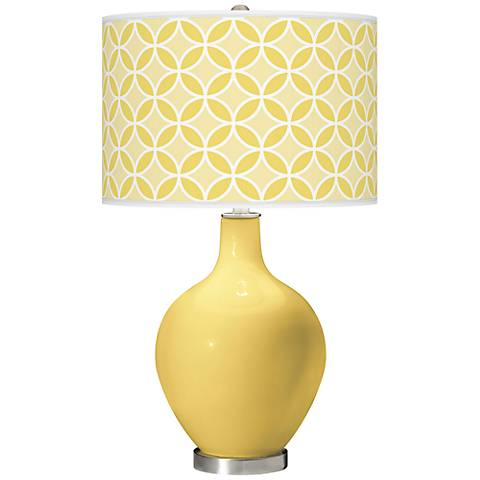 Daffodil Circle Rings Ovo Table Lamp
