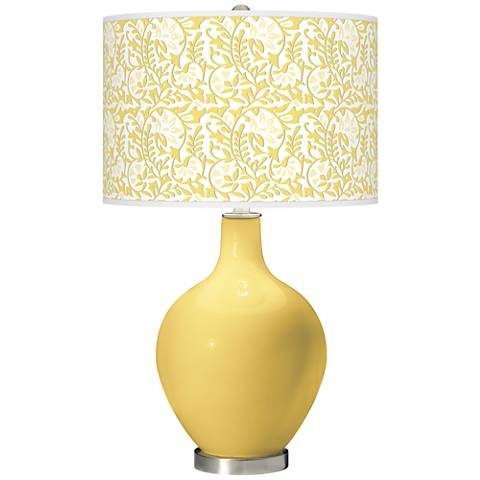 Daffodil Gardenia Ovo Table Lamp