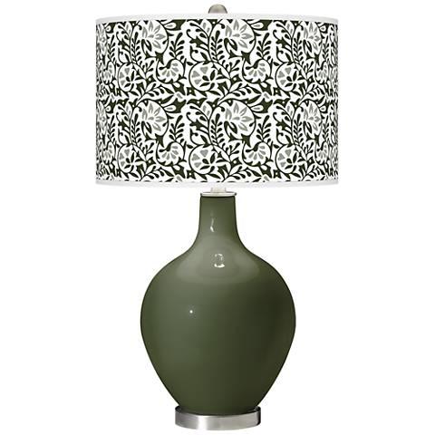 Secret Garden Gardenia Ovo Table Lamp