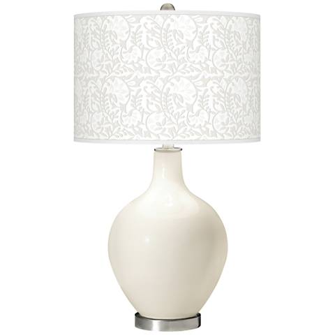 West Highland White Gardenia Ovo Table Lamp