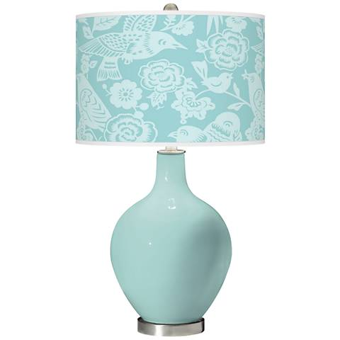 Cay Aviary Ovo Glass Table Lamp