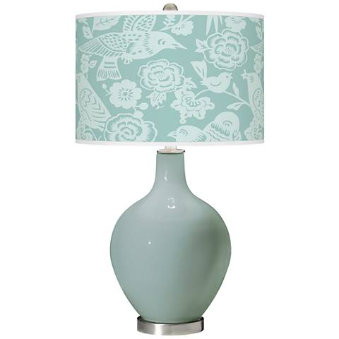 Aqua-Sphere Aviary Ovo Glass Table Lamp