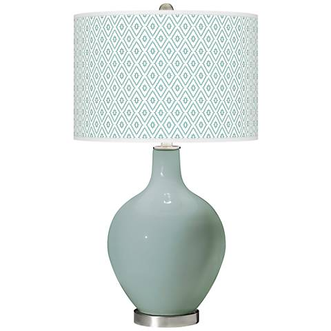 Aqua-Sphere Diamonds Ovo Table Lamp