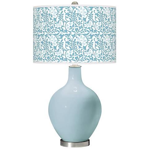 Vast Sky Gardenia Ovo Table Lamp