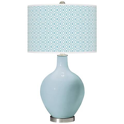 Vast Sky Diamonds Ovo Table Lamp