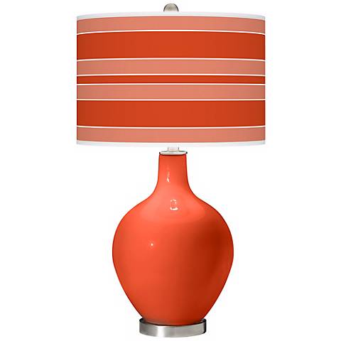 Daredevil Bold Stripe Ovo Table Lamp