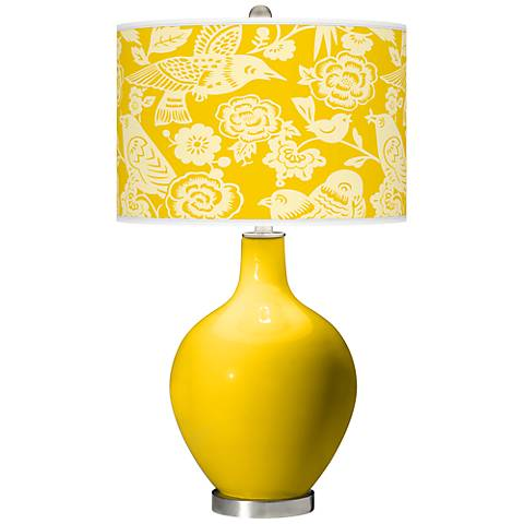Citrus Aviary Ovo Table Lamp
